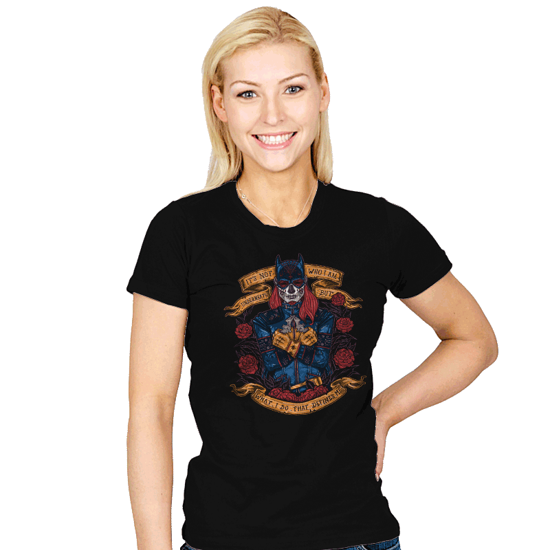 Day of the Dead Heroine - Womens - T-Shirts - RIPT Apparel