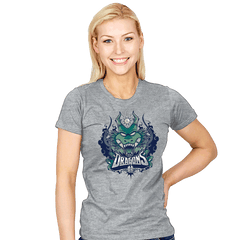 Team Dragons - Womens - T-Shirts - RIPT Apparel
