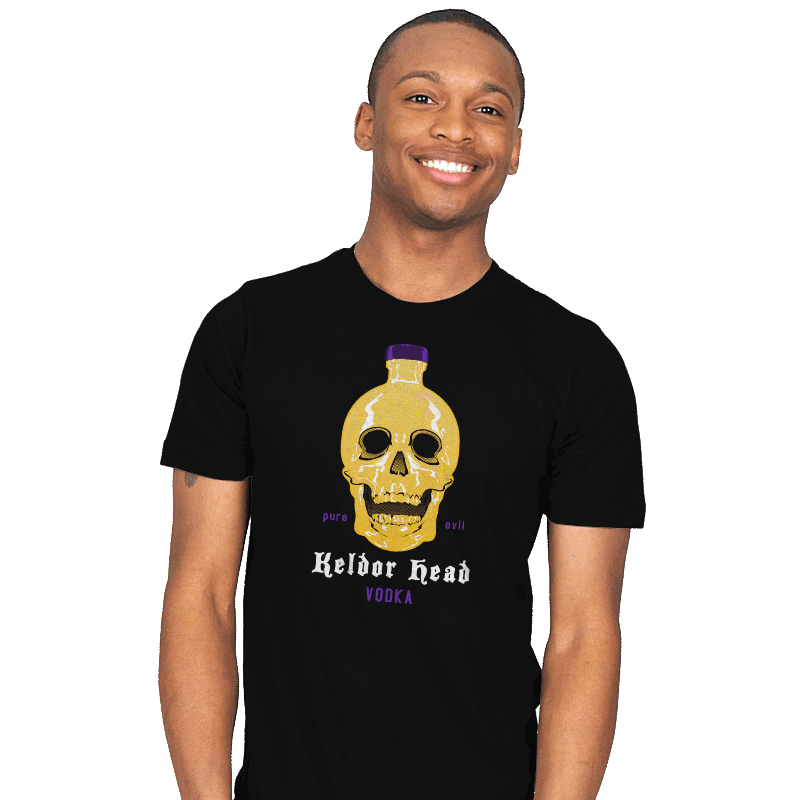 Keldor Head Vodka - Mens - T-Shirts - RIPT Apparel