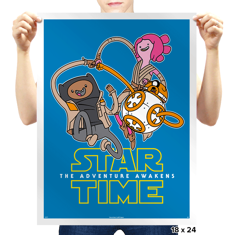 The Adventure Awakens - Prints - Posters - RIPT Apparel
