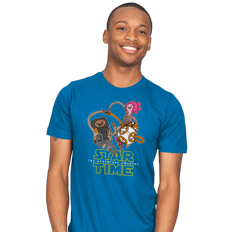 The Adventure Awakens - Mens - T-Shirts - RIPT Apparel