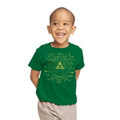 Triforce Hero Club - Youth - T-Shirts - RIPT Apparel