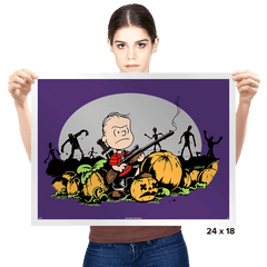 Fear The Great Pumpkin - Prints - Posters - RIPT Apparel