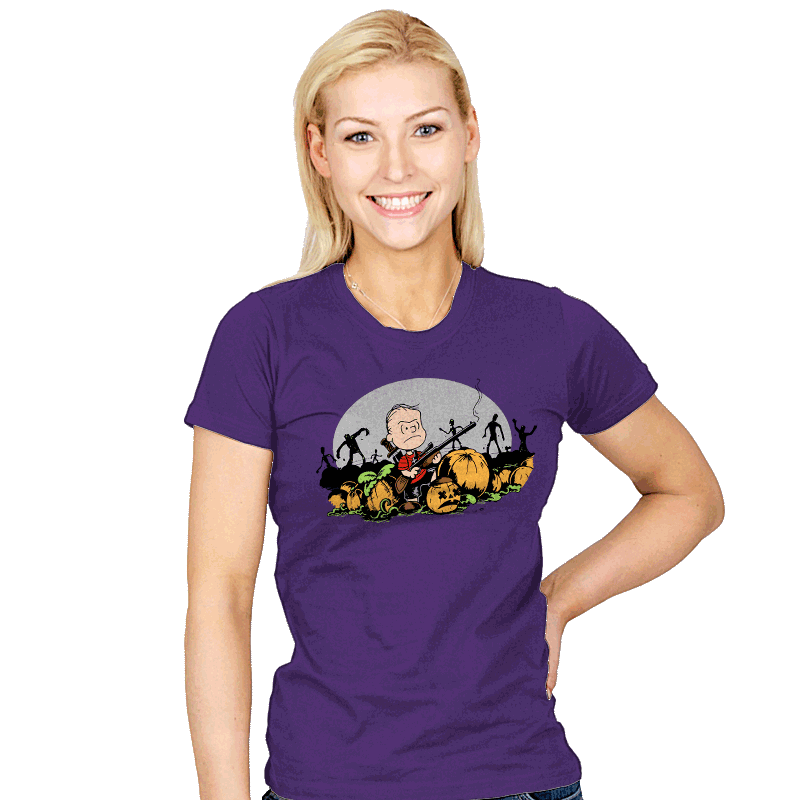 Fear The Great Pumpkin - Womens - T-Shirts - RIPT Apparel
