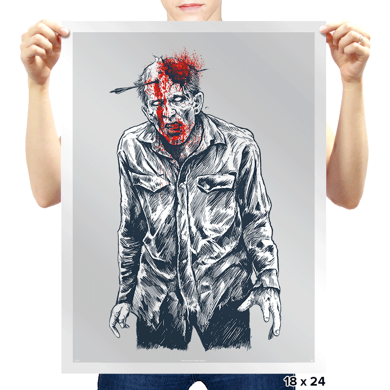 Dead Walker - Prints - Posters - RIPT Apparel