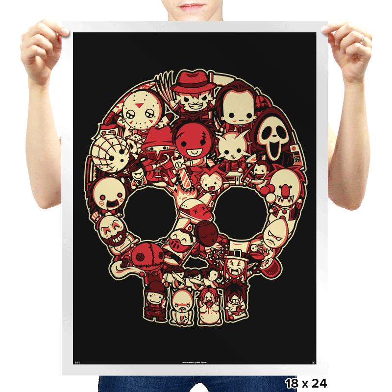 Bloody Lil Horrors - Prints - Posters - RIPT Apparel
