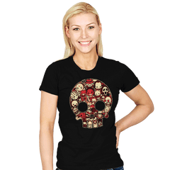 Bloody Lil Horrors - Womens - T-Shirts - RIPT Apparel