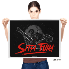 Sith Fury - Prints - Posters - RIPT Apparel