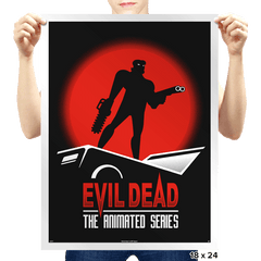Evil Dead: The Animated Series - Prints - Posters - RIPT Apparel