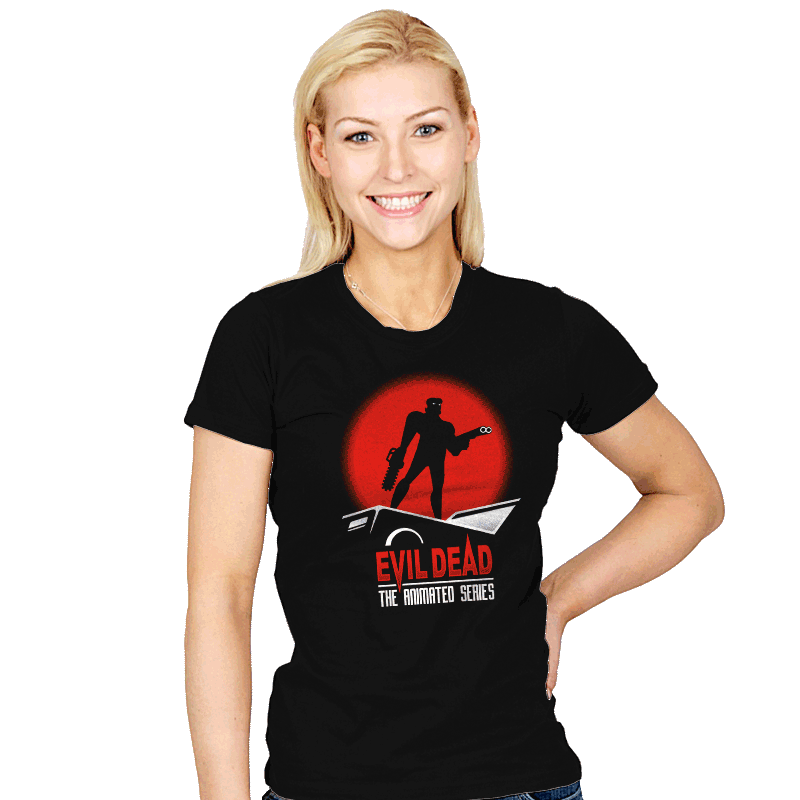 Evil Dead: The Animated Series - Womens - T-Shirts - RIPT Apparel