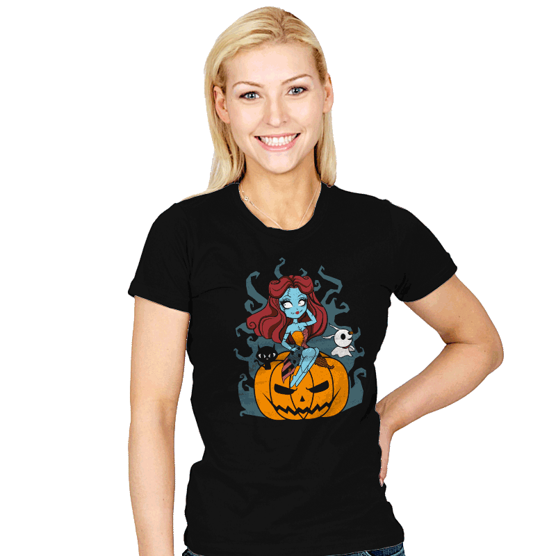 Pin-Up Doll Sally - Womens - T-Shirts - RIPT Apparel