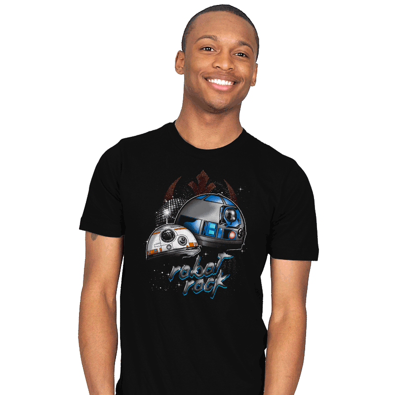 Robot Rock - Mens - T-Shirts - RIPT Apparel
