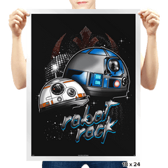 Robot Rock - Prints - Posters - RIPT Apparel