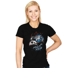 Robot Rock - Womens - T-Shirts - RIPT Apparel