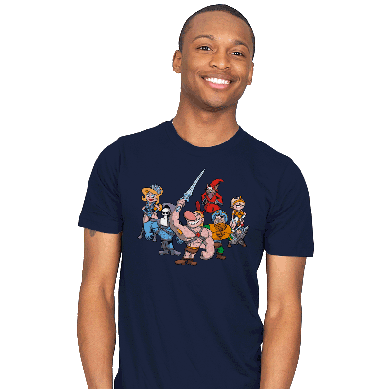 Masters of the Grimverse. - Mens - T-Shirts - RIPT Apparel
