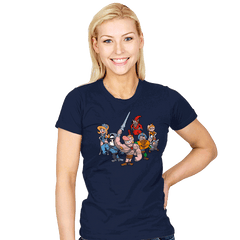 Masters of the Grimverse. - Womens - T-Shirts - RIPT Apparel