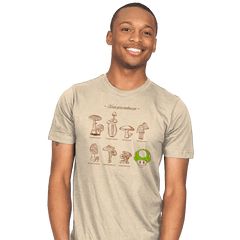 Know your mushrooms - Mens - T-Shirts - RIPT Apparel