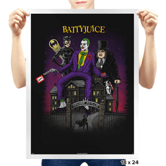 Battyjuice - Prints - Posters - RIPT Apparel