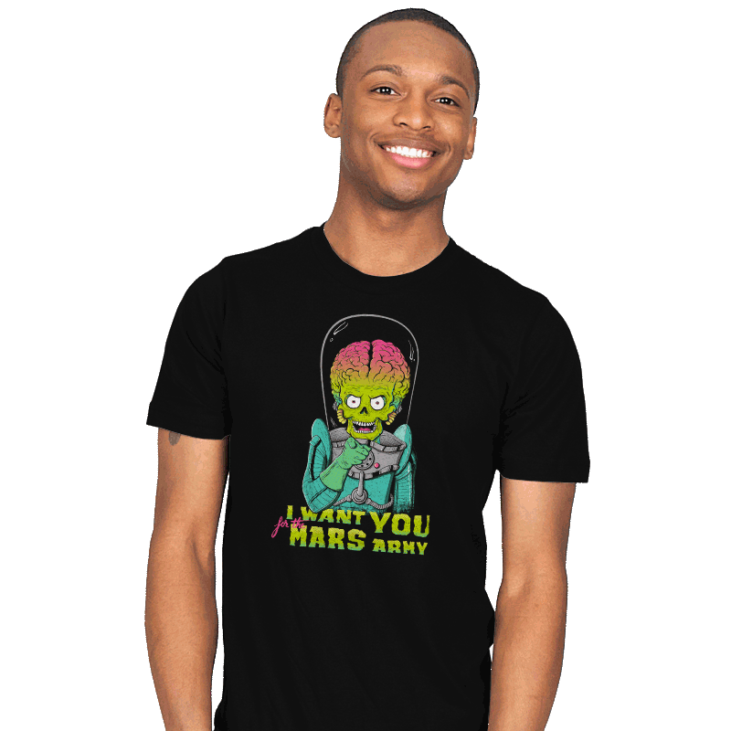 Mars Recruitment - Mens - T-Shirts - RIPT Apparel