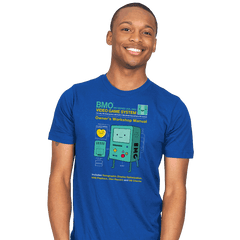 BMO User Manual - Mens - T-Shirts - RIPT Apparel