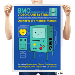 BMO User Manual - Prints - Posters - RIPT Apparel