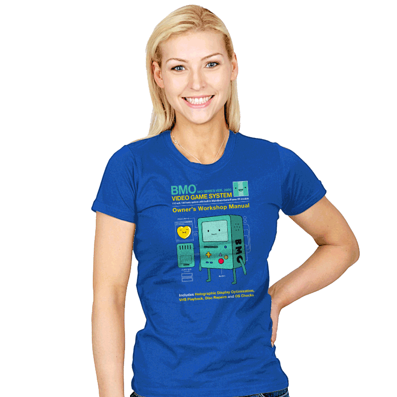 BMO User Manual - Womens - T-Shirts - RIPT Apparel