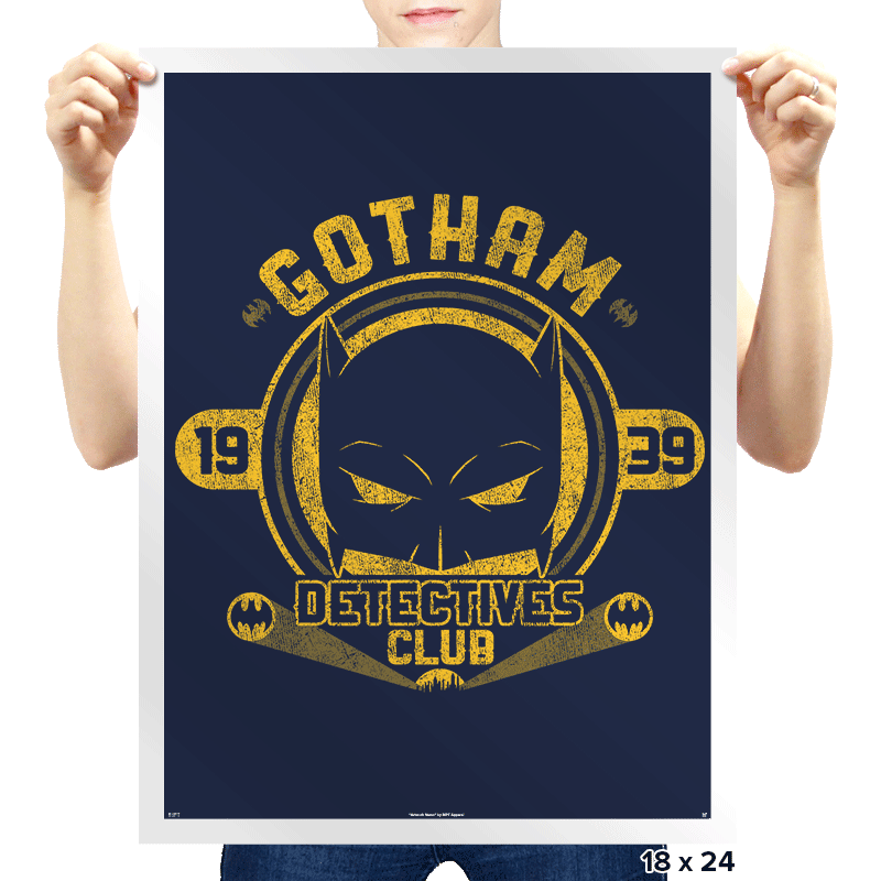 Detectives Club - Prints - Posters - RIPT Apparel