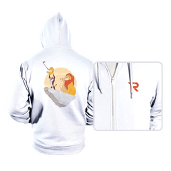 The Lion Selfie - Hoodies - Hoodies - RIPT Apparel