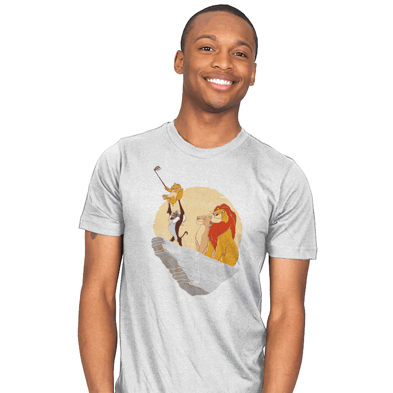 The Lion Selfie - Mens - T-Shirts - RIPT Apparel
