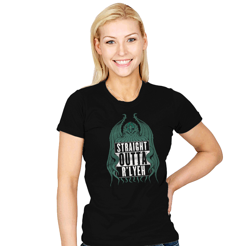 Straight Outta R'lyeh - Womens - T-Shirts - RIPT Apparel