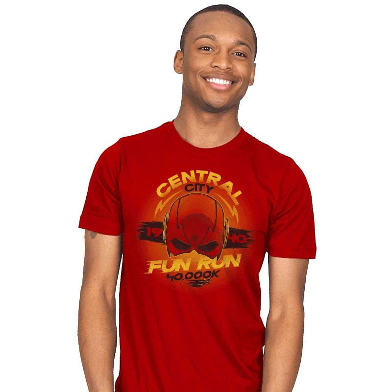 Central City Fun Run - Mens - T-Shirts - RIPT Apparel