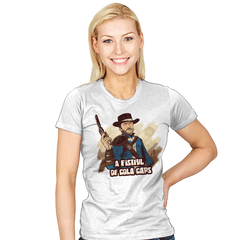 A Fistful of Cola Caps - Womens - T-Shirts - RIPT Apparel