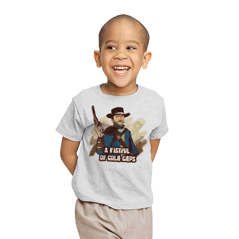 A Fistful of Cola Caps - Youth - T-Shirts - RIPT Apparel