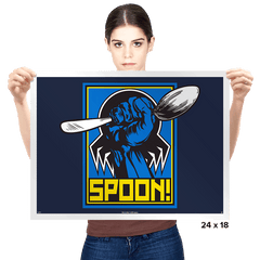 SPOON! - Prints - Posters - RIPT Apparel