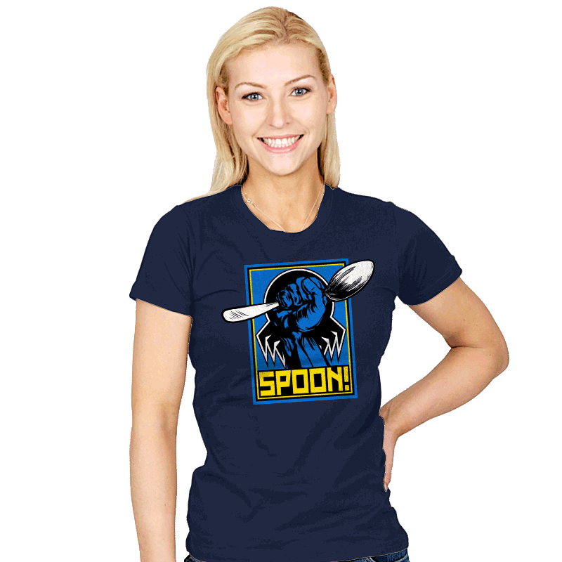 SPOON! - Womens - T-Shirts - RIPT Apparel
