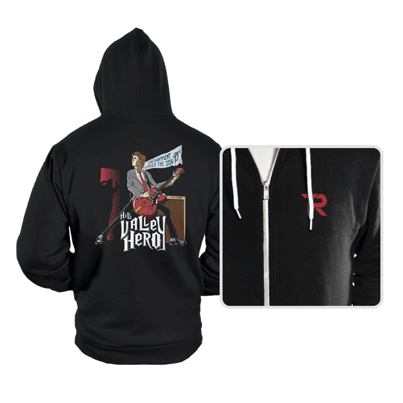 Hill Valley Hero - Hoodies - Hoodies - RIPT Apparel