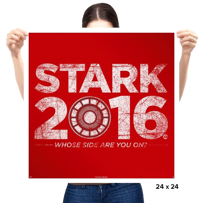 Iron for 2016 - Prints - Posters - RIPT Apparel