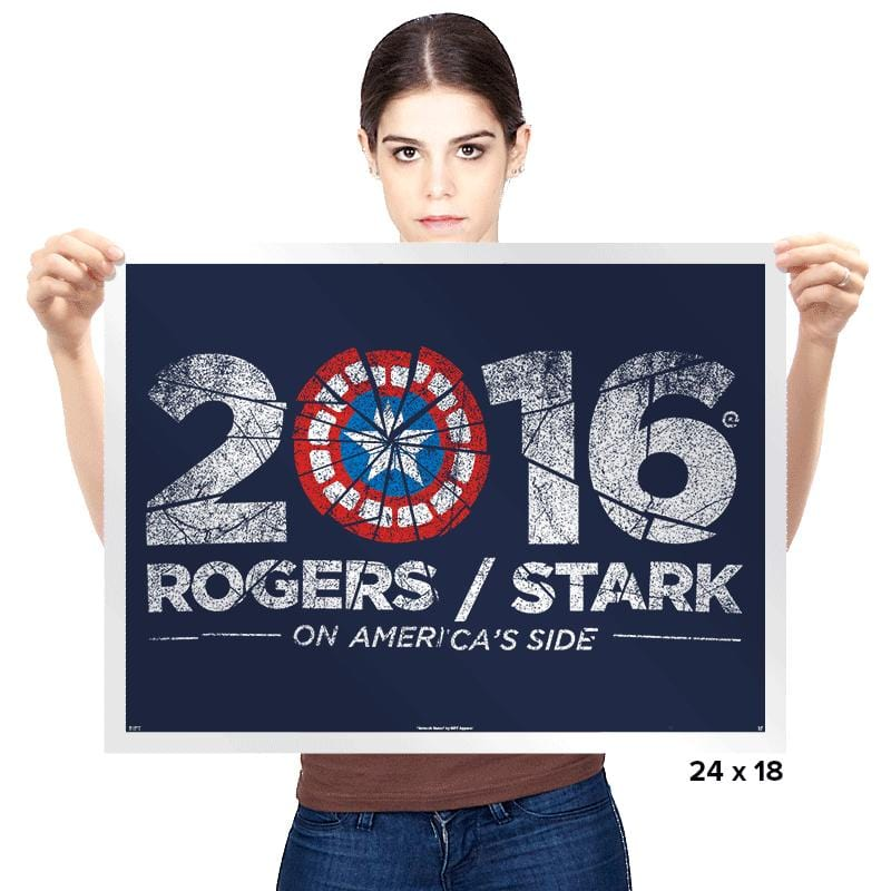 Civil Election 2016 - Prints - Posters - RIPT Apparel