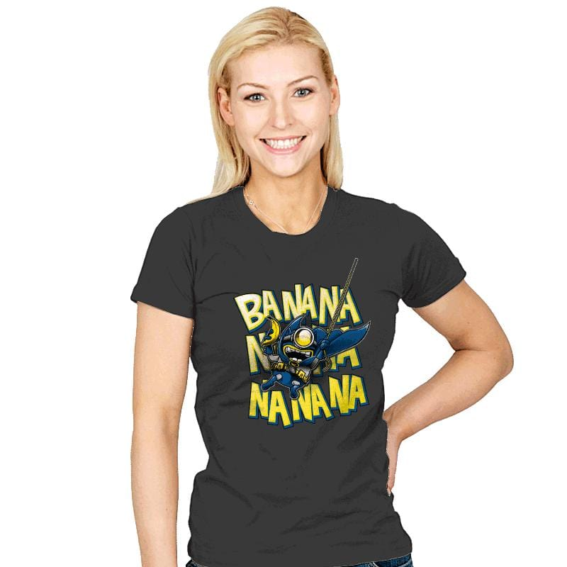 Banana Nana - Womens - T-Shirts - RIPT Apparel