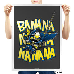 Banana Nana - Prints - Posters - RIPT Apparel