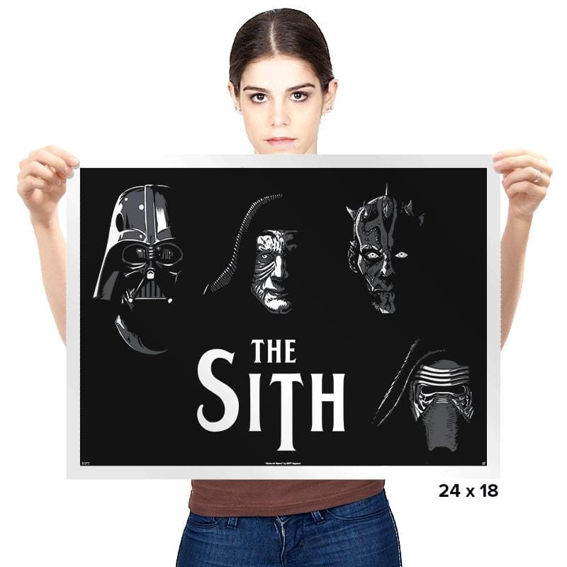 The Sith - Prints - Posters - RIPT Apparel