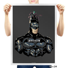 Arkham Man - Prints - Posters - RIPT Apparel