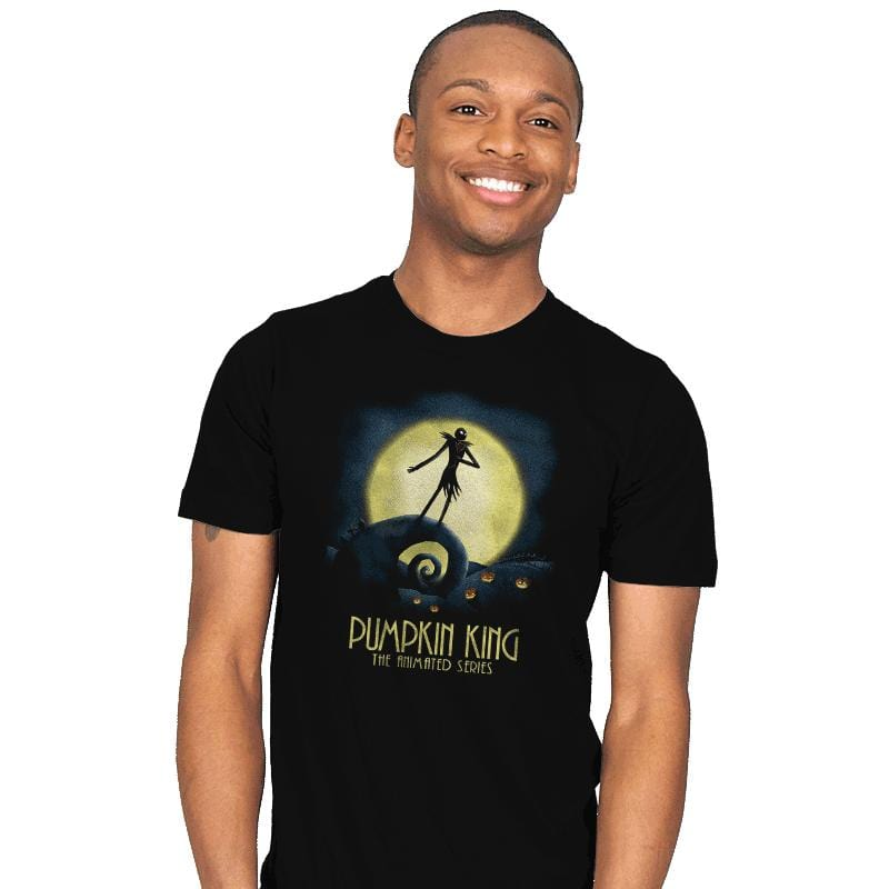 Animated Pumpkin King - Mens - T-Shirts - RIPT Apparel