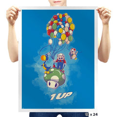 1UP - Prints - Posters - RIPT Apparel