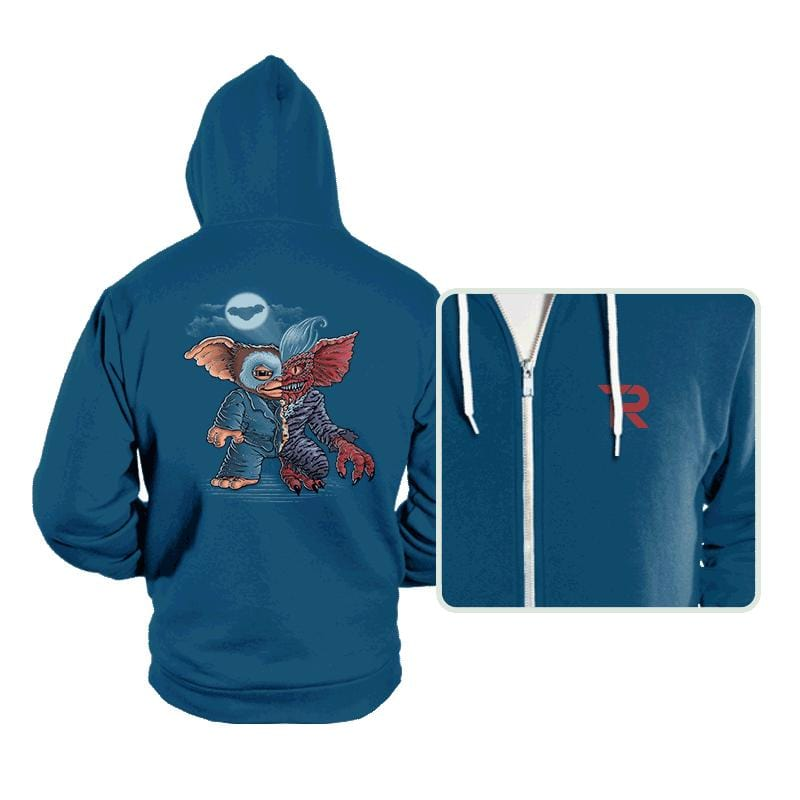 Two Faced Mogwai - Hoodies - Hoodies - RIPT Apparel