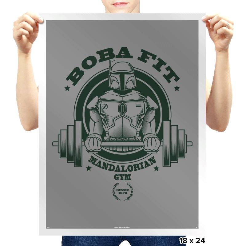 Boba Fit - Prints - Posters - RIPT Apparel