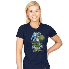 Yoshi's Island Tours - Womens - T-Shirts - RIPT Apparel