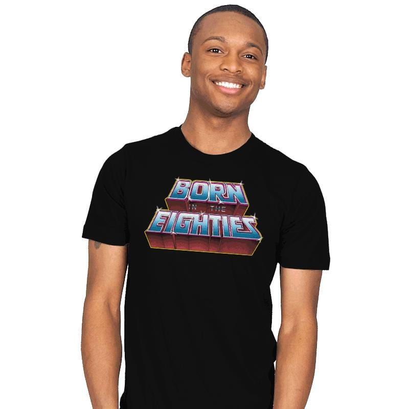 Born in the Eighties - Mens - T-Shirts - RIPT Apparel
