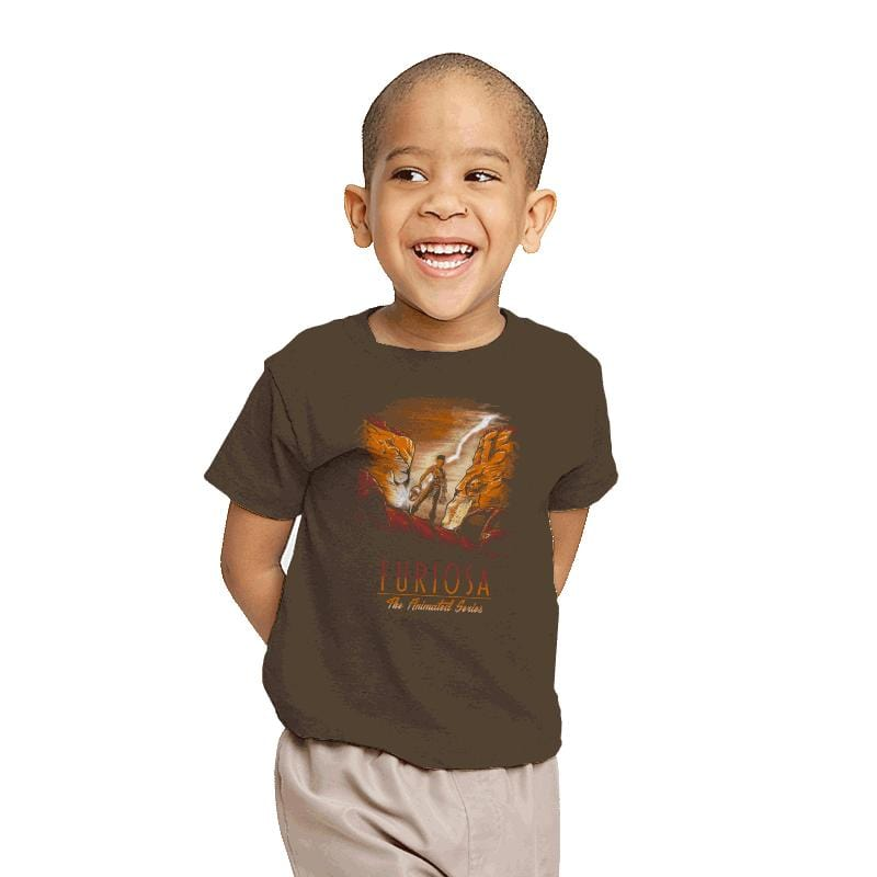 Furiosa: The Animated Series - Youth - T-Shirts - RIPT Apparel