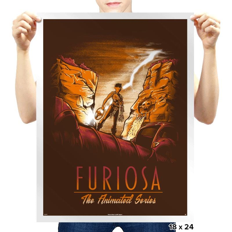 Furiosa: The Animated Series - Prints - Posters - RIPT Apparel